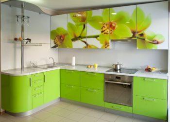 Кухни c фотопечатью