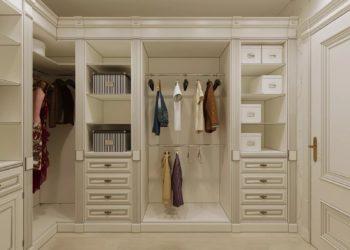 Гардеробная комната в стиле прованс