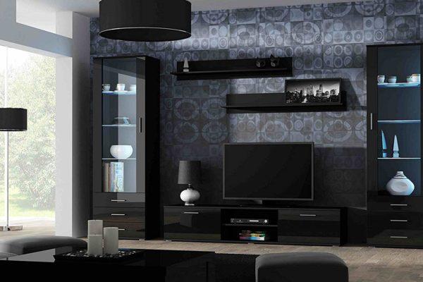 Современная гостиная стенка в стиле модерн ГС-36