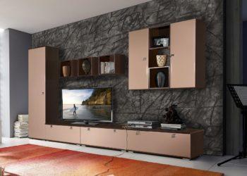 Гостиная стенка в стиле модерн